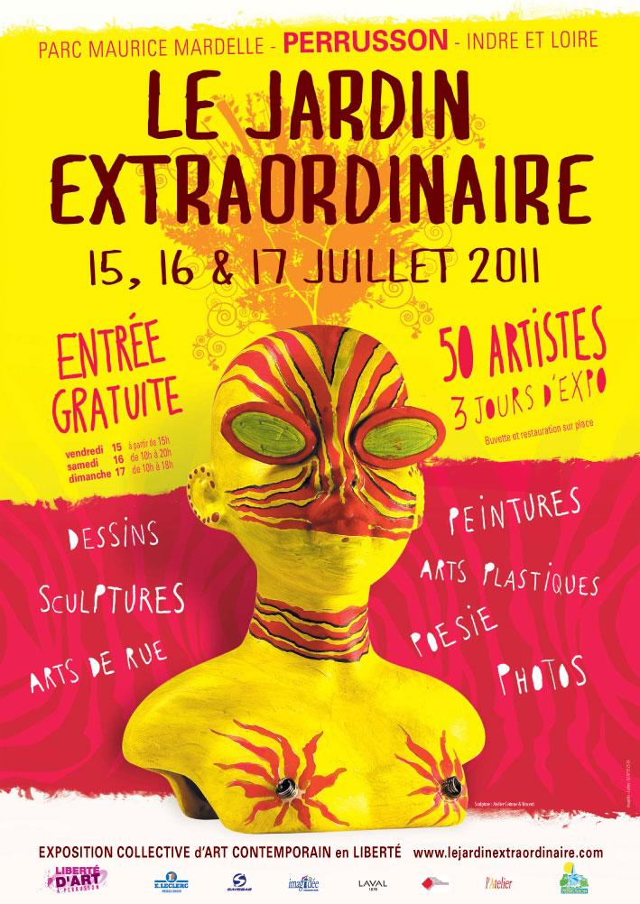 Le 8 me jardin extraordinaire perrusson en juillet for Le jardin extraordinaire 09