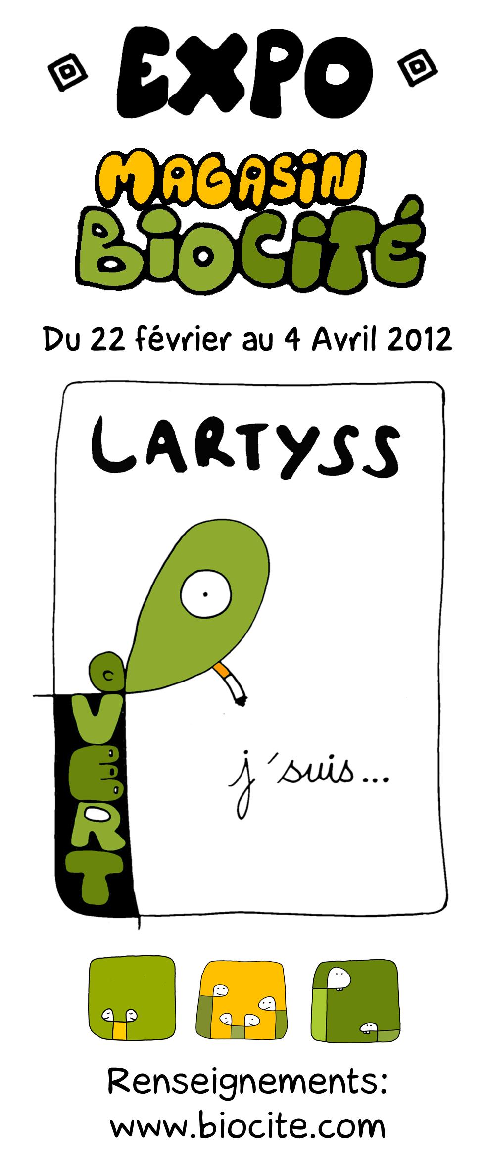 Exposition Jon Lartyss Biocité