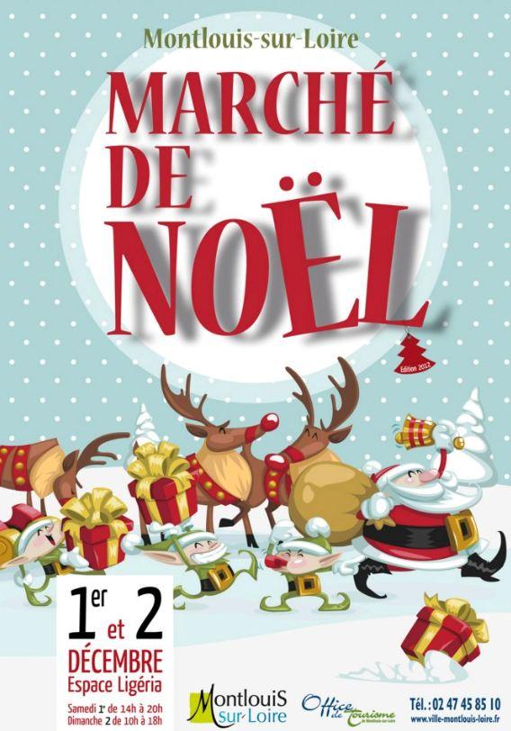 Marché de Noël Montlouis Sur Loire 2012