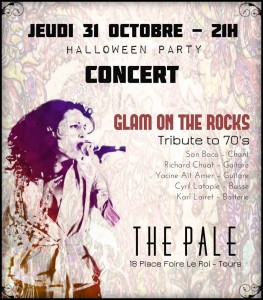 glam on the rocks en concert