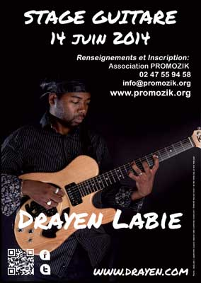 Stage guitare touraine 2014