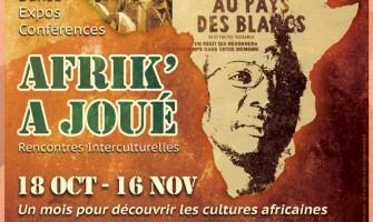 Festival Afrik'A Joué du 18 oct au 16 nov 2014