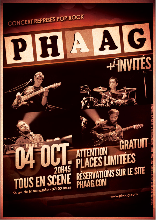 concert phaag 4 octobre 2014