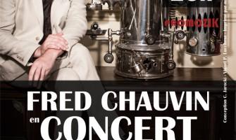 Fred Chauvin en concert à La Riche