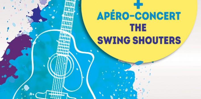 Apéro-Concert SWING SHOUTERS Jeudi 19 mars à Fondettes
