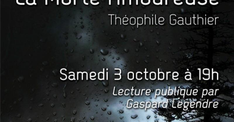 Lecture Théophile Gautier à Chançay 3 octobre 2015