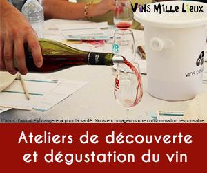 atelier dégustation vin
