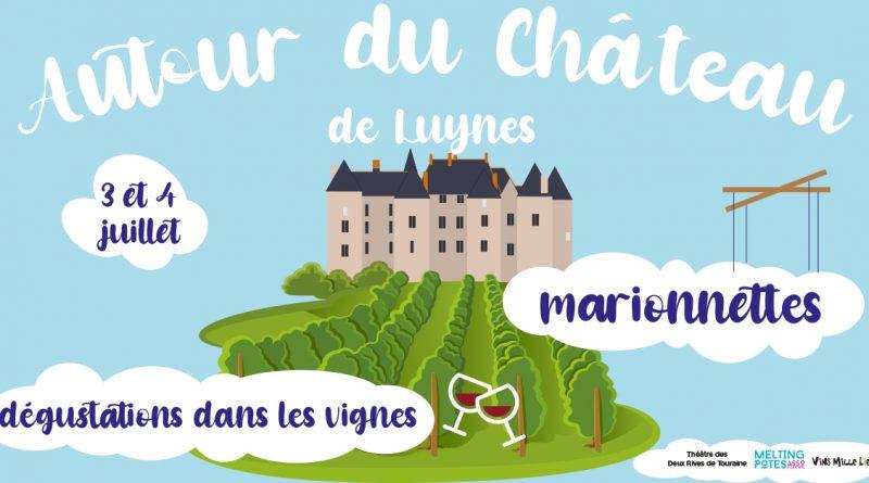 Autour du chateau ateliers dégustation et marionnettes à Luynes